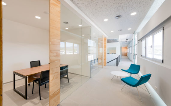 interiorismo-oficinas-donaire-vidrio-madera
